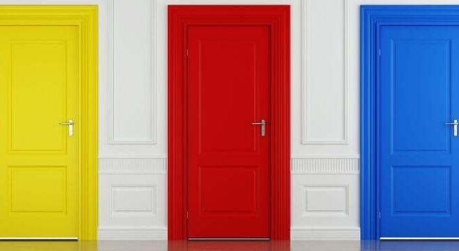 Dale un nuevo toque a tu casa, pinta las puertas